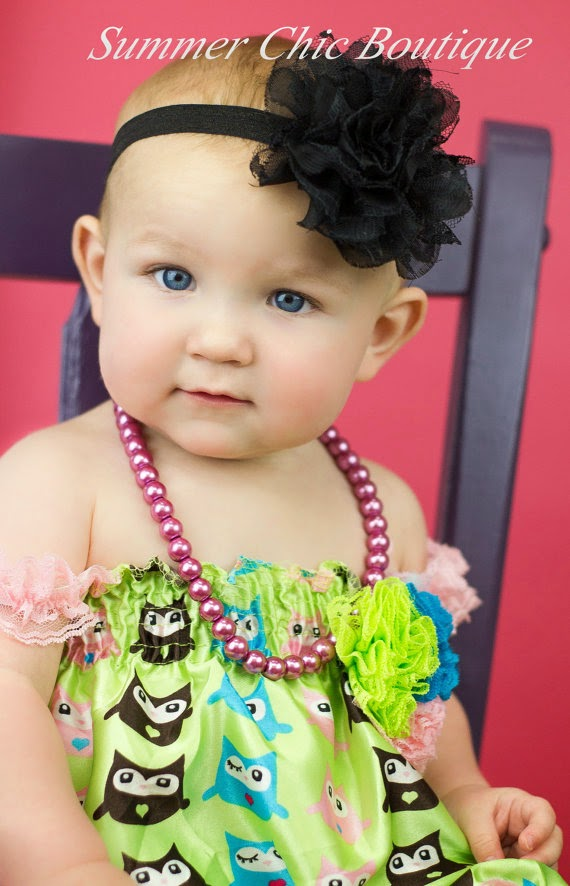 how to make infant headbands