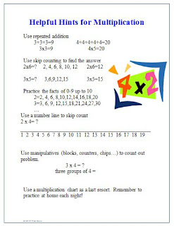 5 Fun Ways to Teach Multiplication Facts - Mr Elementary Math