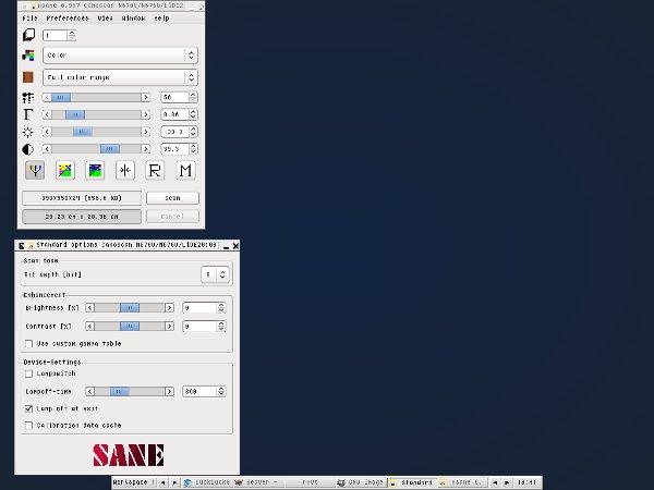 Драйвер на сканер canoscan lide 20