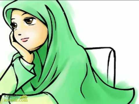 The Silvia : Gambar Kartun Anak Muslimah