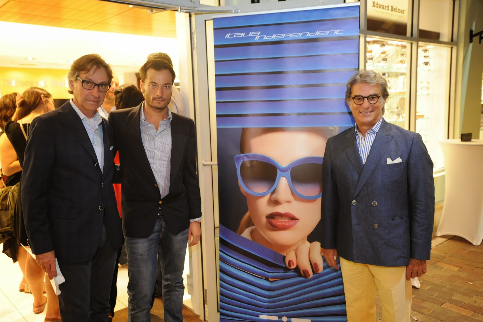 Accessories Trend Report: Italia-Independent and Edward Beiner unveiled a capsule  sunglasses collection