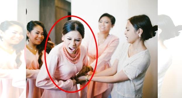 CEMAS!!! Sesuatu Yang Tidak Di Sangka Berlaku Kepada Jihan Semasa Majlis Pernikahan Nad Zainal