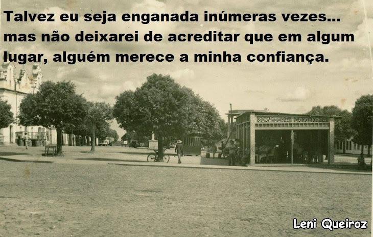 SERRINHA ANTIGA:PRAÇA LUIZ NOGUEIRA ANOS 50