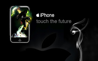 iPhone Touch The Future HD Wallpaper