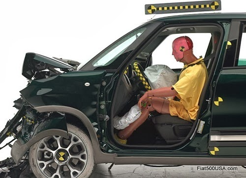 Fiat 500L Driver Seat Crash Test Result
