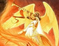 ángel tocando trompeta