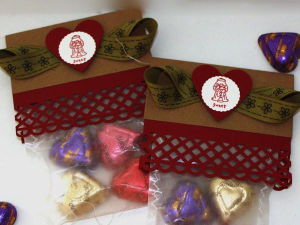 Make Valentine Treat Bags