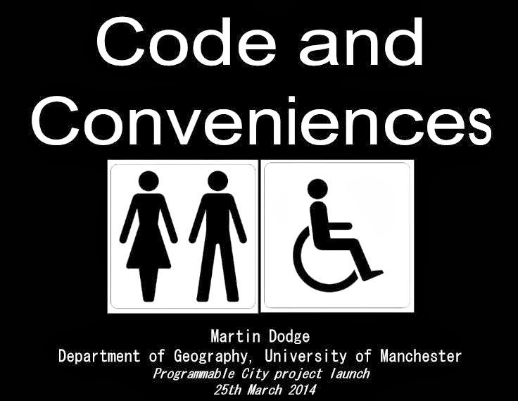 Code and Conveniences talk slides