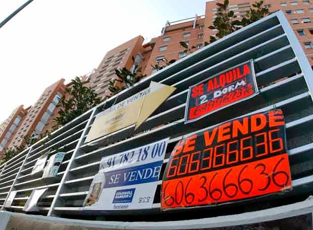 El precio de la vivienda de segunda mano es ahora un 6% más barato que hace un año.