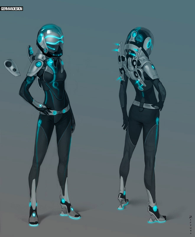 super punch space suit design