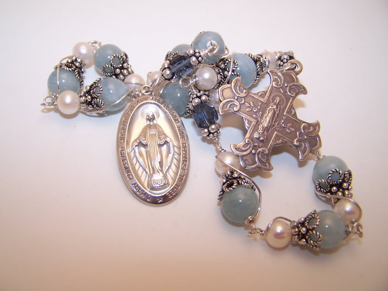 No. 61.  Rosary Of The Immaculate Conception- Custom Order- SOLD