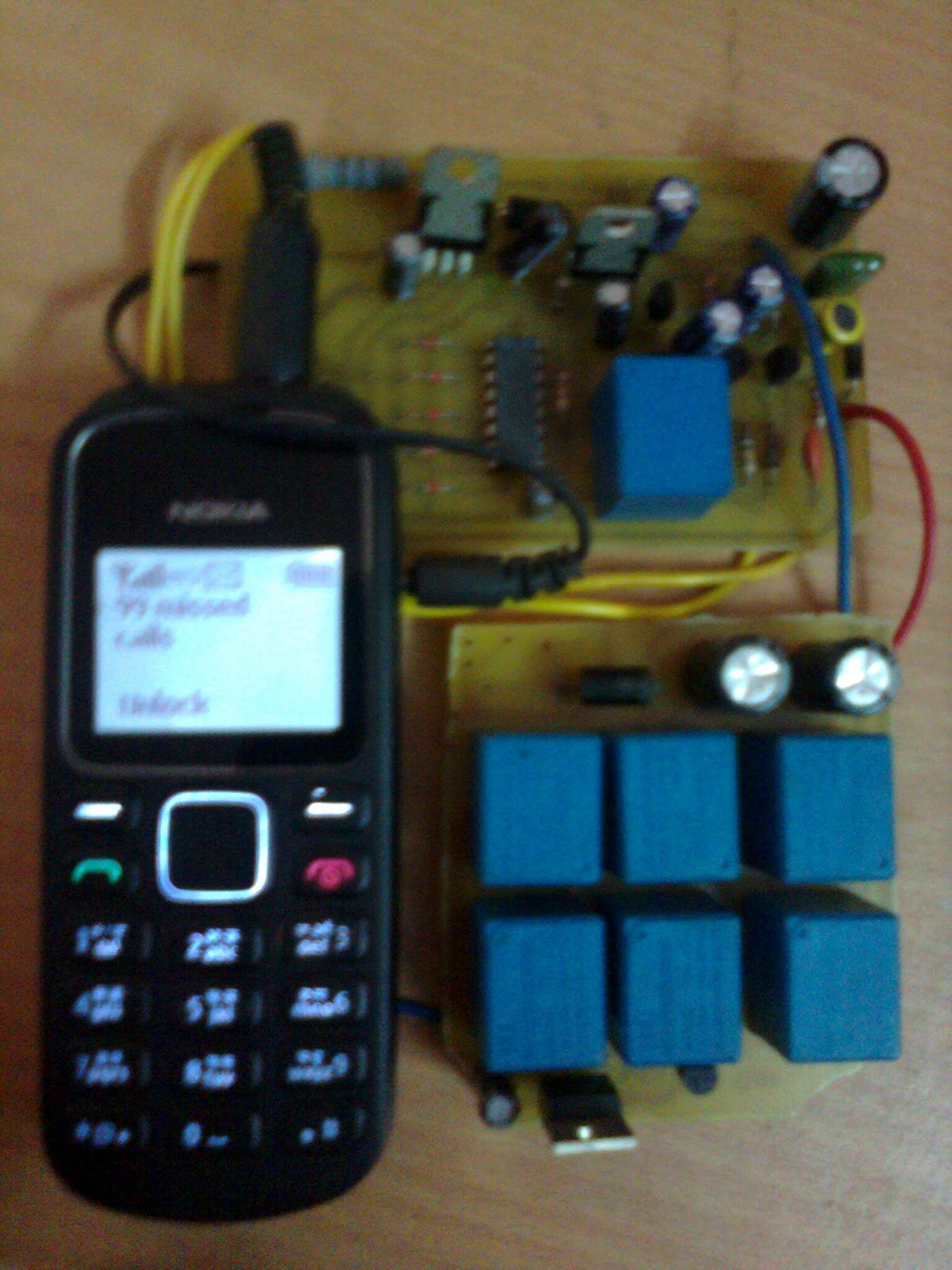 Homemade Circuit Designs Just For You Model And Remote Control Schematics Electronics Circuits The System Will Faithfully Respond To Every Call Made From Your Cell Phone Alternately Switch Connected Load On Off As Per