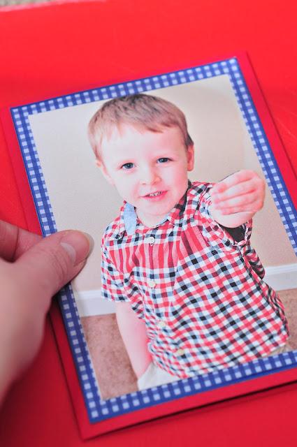 Valentine Card Ideas  Kids Lollipop Valentine Photo Card