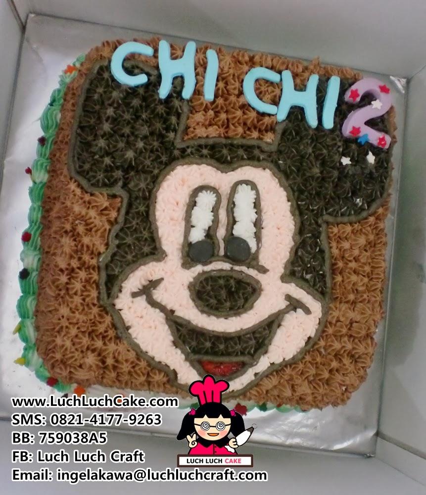 Kue Tart Mickey Mouse Daerah Surabaya - Sidoarjo