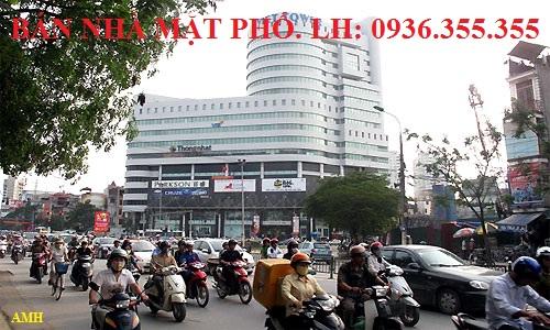 Bán nhà mặt phố Thái Hà
