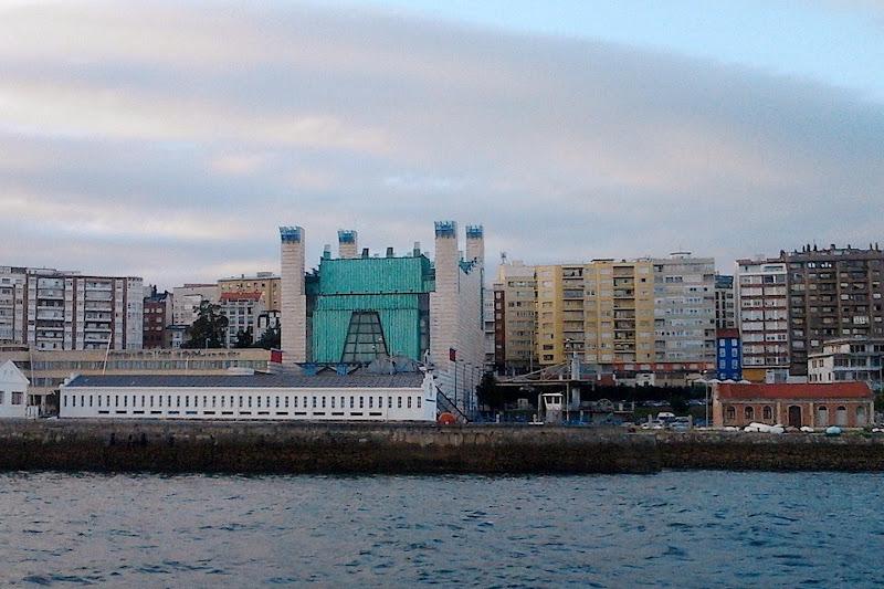 Edificio del Palacio de Festivales de Santander