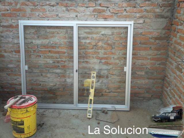 Como instalar una ventana de aluminio con espuma de - Instalar ventana aluminio ...