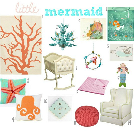 mermaid nursery