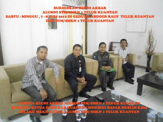 Panitia Bersama Bapak Muslim S.Sos Ketua DPRD Kab.Kuantan Singingi