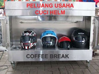 bisnis jasa cuci helm