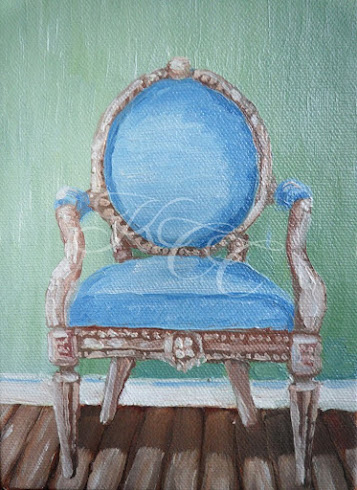 """Blue Chair"""