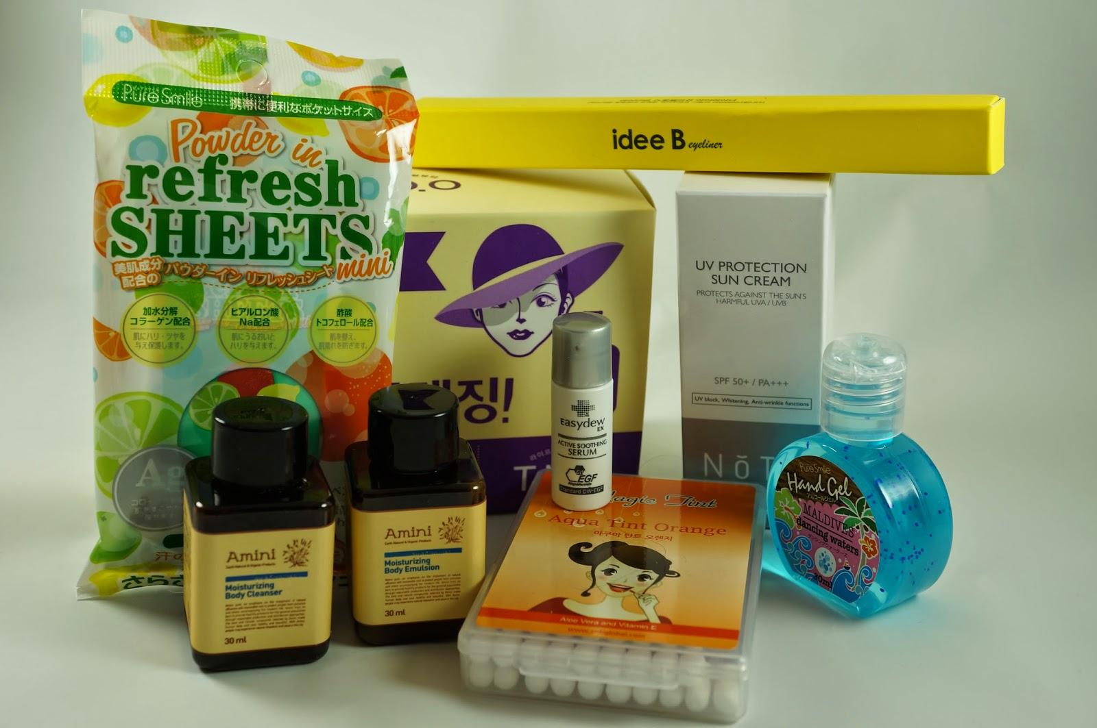 Memebox #25 Traveller's Traveler's Beauty Kit Unboxing Review