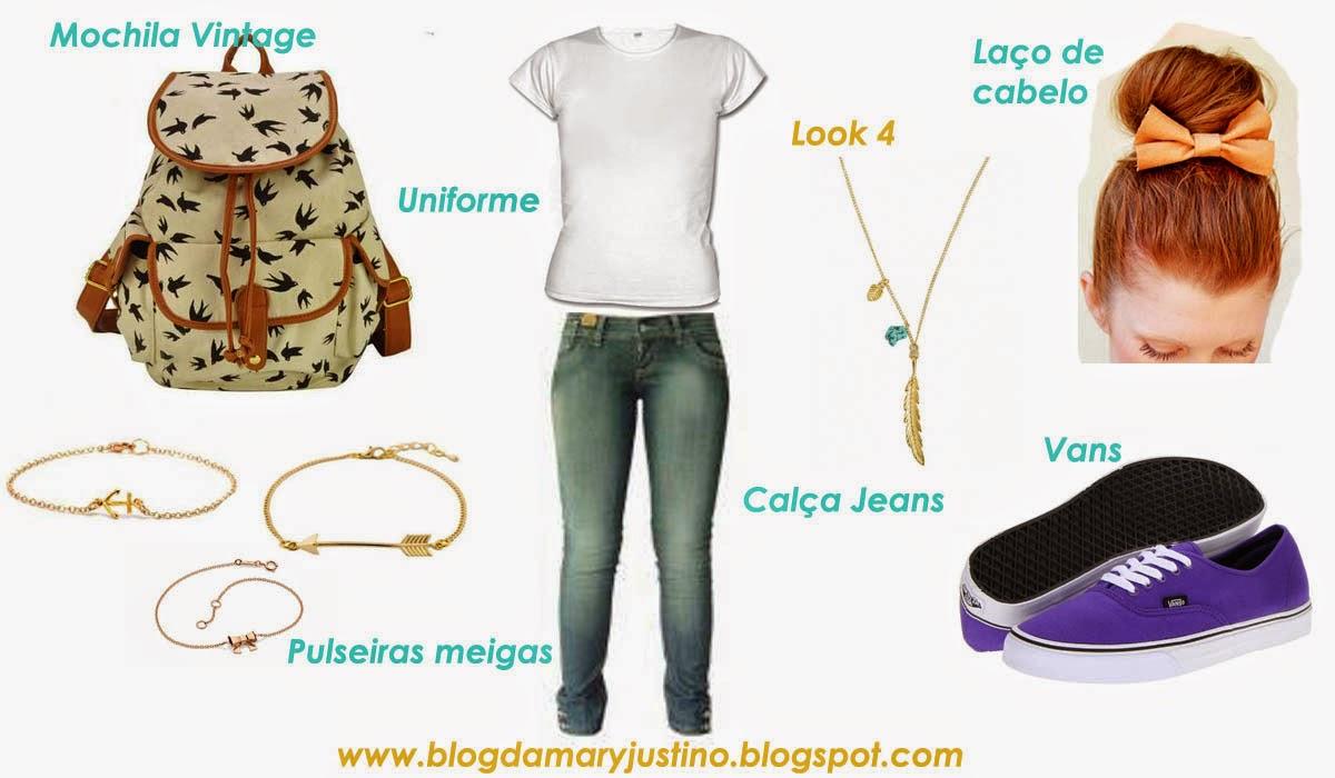 Preferência Blog Da Mary Justino: Montando um Look Escolar Estiloso com Uniforme OG17