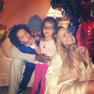 Mariah Carey, Nick Cannon and their kids