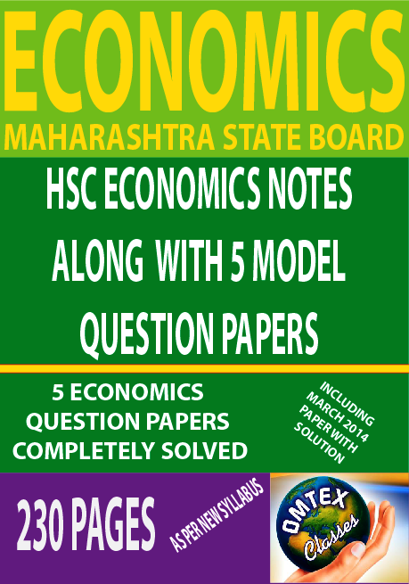 ECONOMICS NOTES FOR HSC