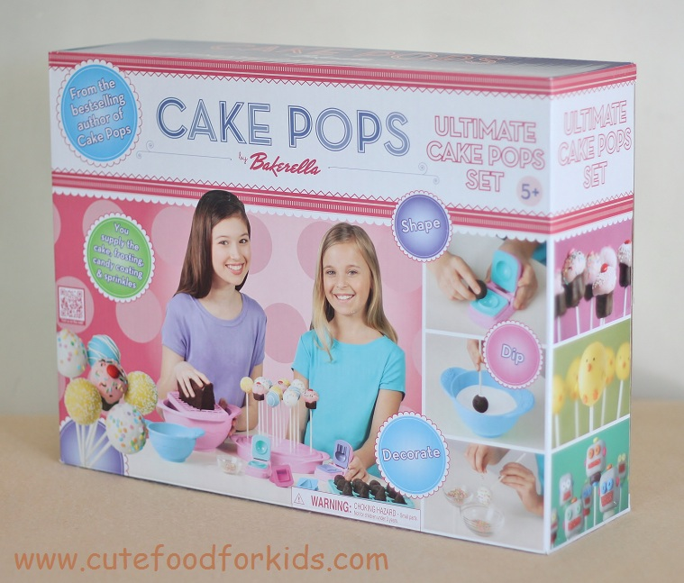 cute food for kids bakerella cake pops set review and giveaway. Black Bedroom Furniture Sets. Home Design Ideas