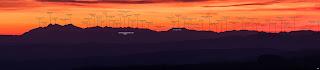 Panorama Tatr, widok z Głobikowej 2015.12.27. fot. Radosław Wierzbiński