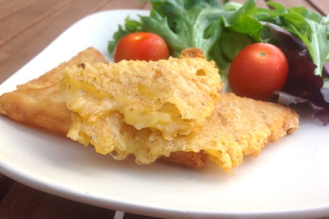 Melting Vegan Cheese Fritters