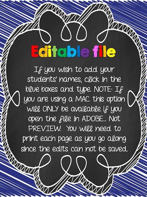 http://www.teacherspayteachers.com/Product/Bucket-Fillers-Editable-Document-794376
