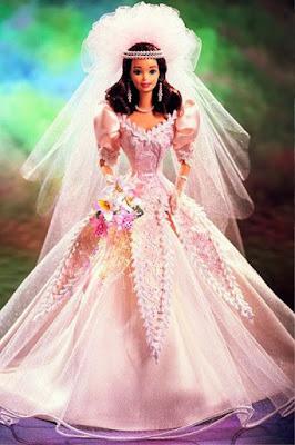 Model Gaun Pengantin ala Barbie Terindah