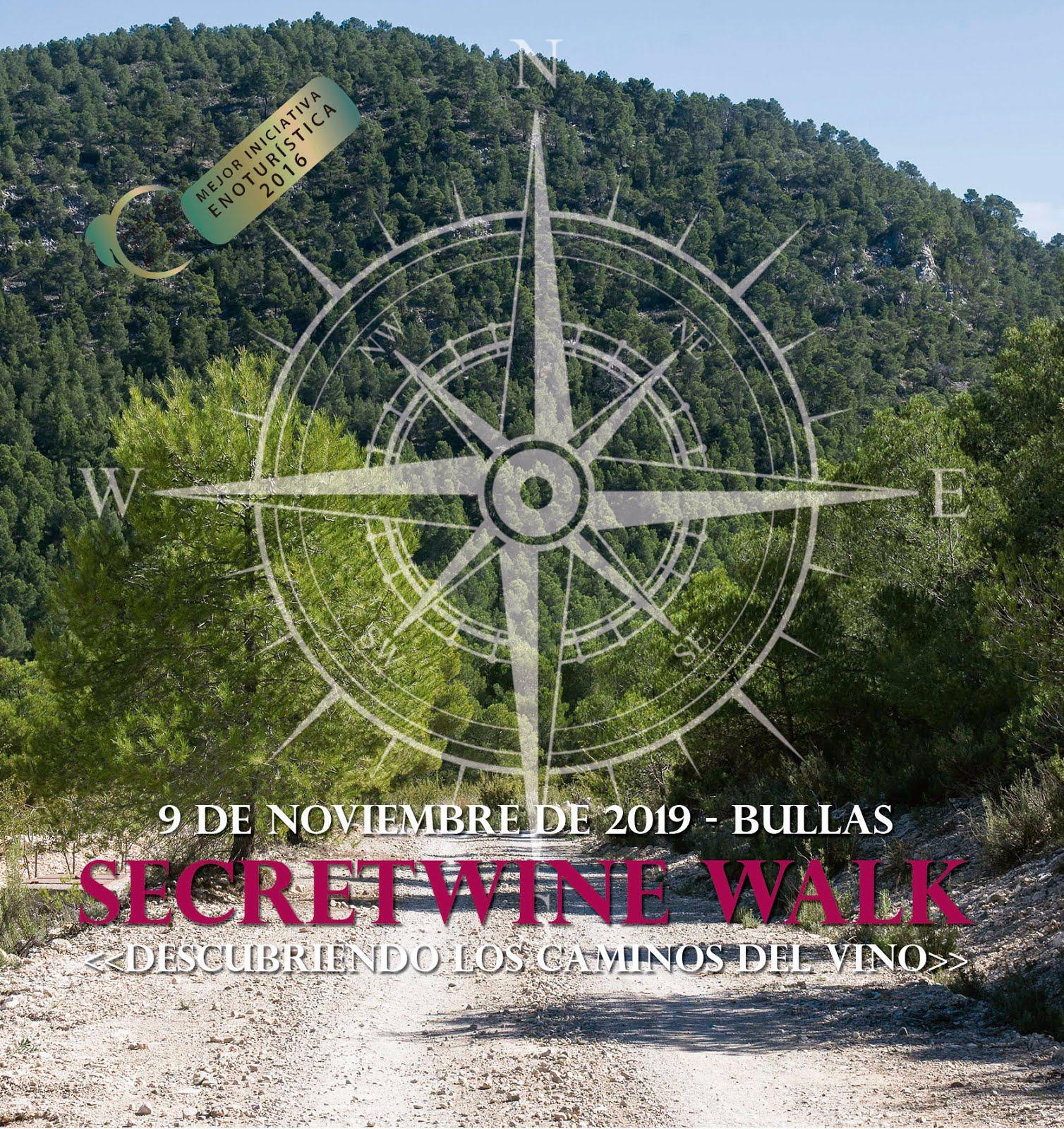 SecretWine Walk Bullas. Descubriendo los caminos del vino.