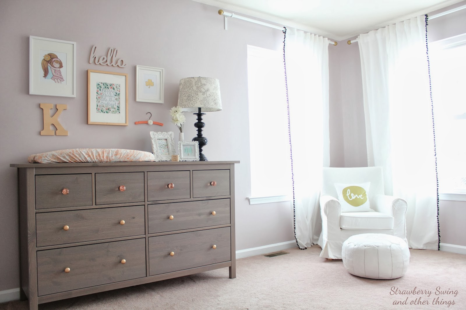 Strawberry swing and other things little room 2 kenley - Dormitorios bebe ikea ...