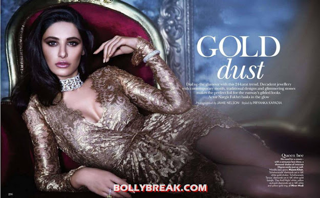 Nargis Fakhri Vogue Magazine Hot Legs - Nargis Fakhri Vogue Magazine Hot Photoshoot Pics