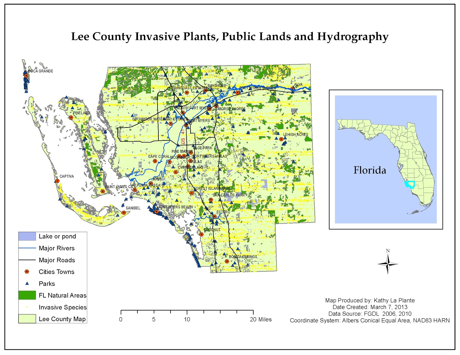 my second and third maps to follow show a digital elevation model dem of lee county and an aerial photograph of a usgs ne quadrangle captiva in lee