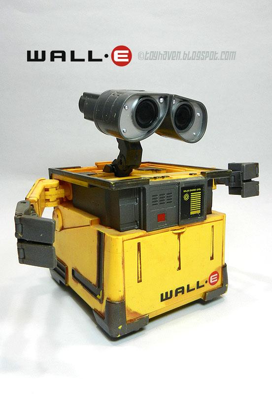 Wall E Toys : Toyhaven thinkway toys transforming wall∙e robot figure