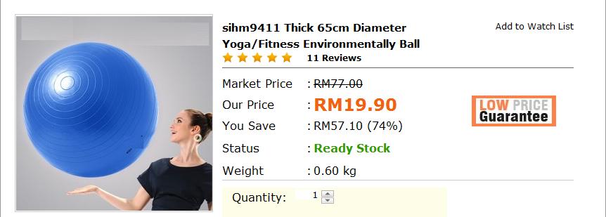 Nanakimie kat mana nak cari alatan home gym yang murah