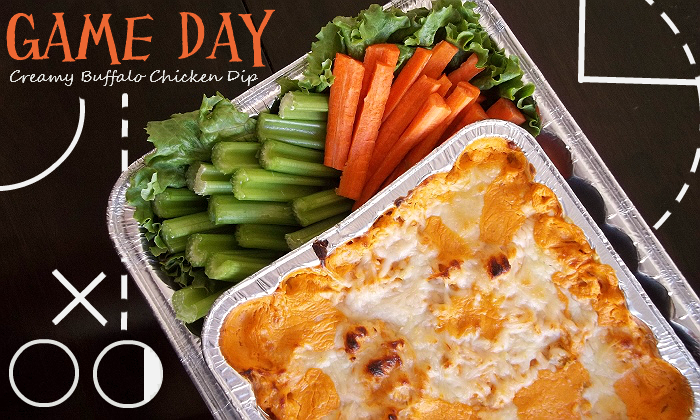 Creamy Buffalo Chicken Dip Game Day Recipes With Handi-Foil