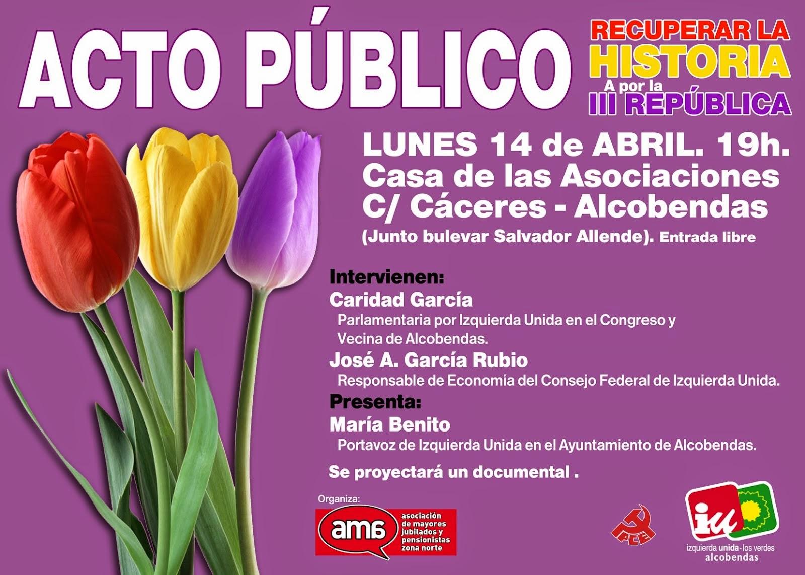 14 Abril - Día de la República