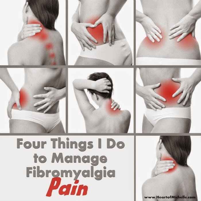 How do I handle the pain of fibromyalgia? Not very well. Here are four things I do to manage fibromyalgia pain.