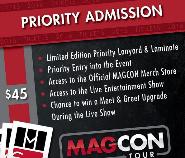 Magcon Tour Prices
