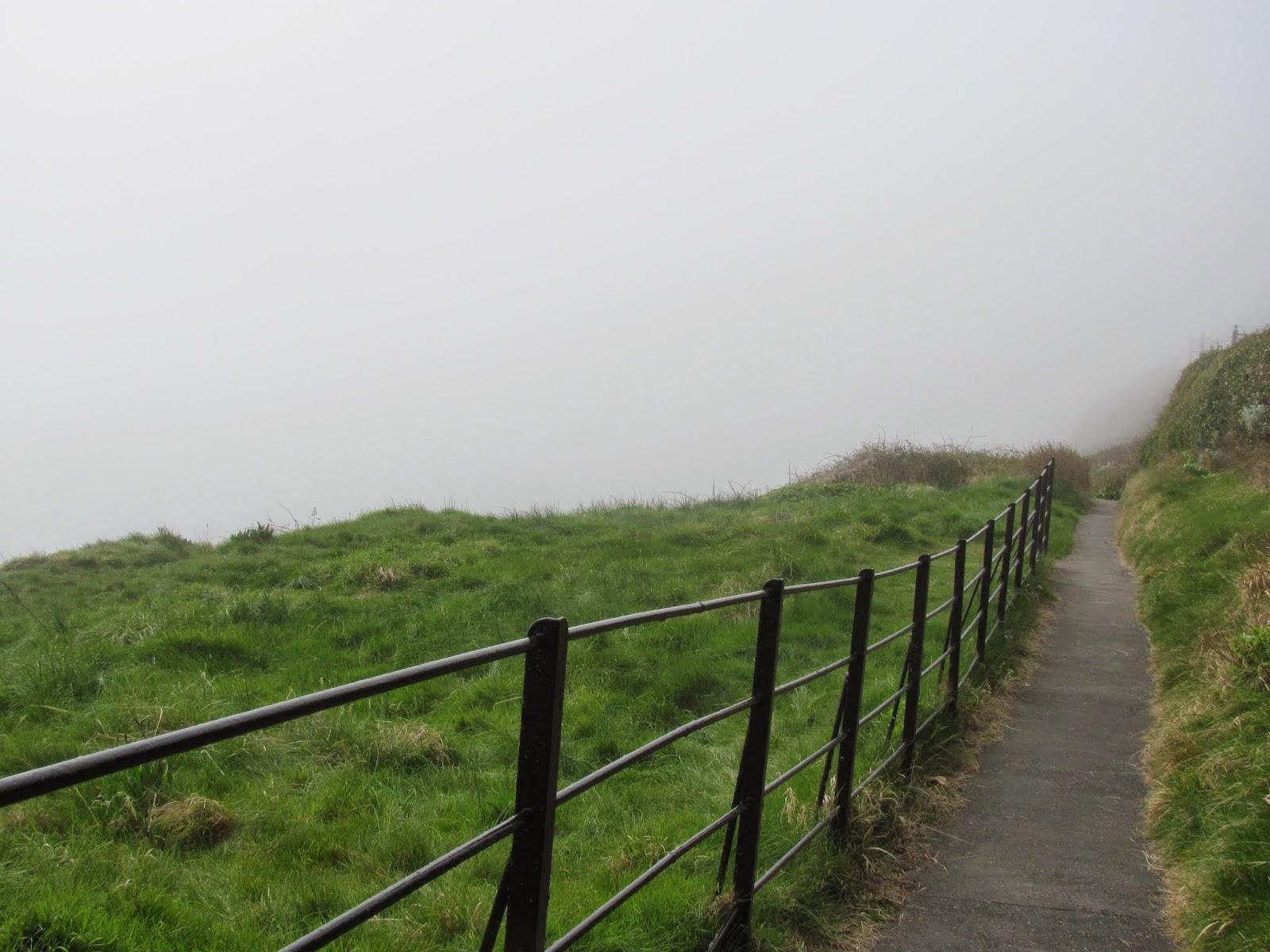 Fog on Dalkey Hill Dublin, Ireland