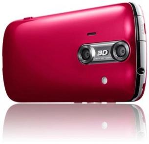 3D Aquos SH8298U Android phone