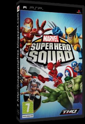 Marvel Super Hero Squad  Full   Espa  Ol   PSP   FS