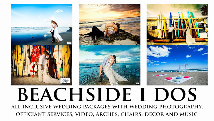 Weddings on the Beach in Cocoa Beach, Florida and Melbourne Beach, Florida