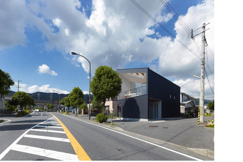 Airhole House by Masahiro Kinoshita