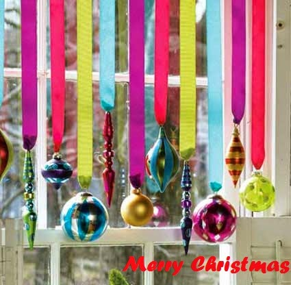 Christmas 2015 Window Decorations Ideas Pictures